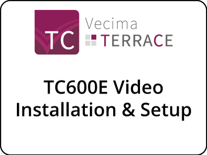 TC600E Installation & Setup